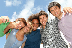 Closeup of students Stock Image