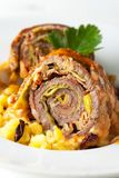 Roulade Royalty Free Stock Photo