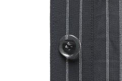 Closeup of suit button Stock Photos