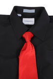 Closeup of suit and tie Royalty Free Stock Photo