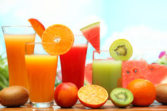Refreshing juice Royalty Free Stock Photos