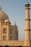 Closeup of Sunset in Empty Taj Mahal Royalty Free Stock Image