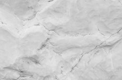 Closeup surface abstract marble pattern at the marble stone for decorate in the garden texture background in black and white tone. Closeup surface abstract royalty free stock image