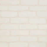 Closeup surface brick wall pattern at cream color brick wallpaper wall textured background Royalty Free Stock Photos