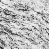 Closeup surface marble pattern at the marble stone wall texture background in black and white tone Royalty Free Stock Image
