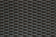 Closeup surface wood pattern at black painted wood weave chair texture background Stock Photo