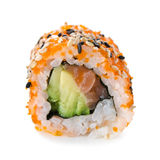 Closeup of sushi roll Stock Photography