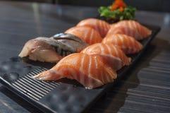 Closeup Sushi Set Royalty Free Stock Photography