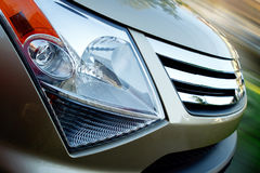 Closeup of suv Royalty Free Stock Images
