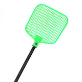 Closeup swatter isolated on white Royalty Free Stock Images
