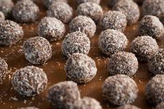 Closeup of sweet Indian coconut burfi Stock Photography