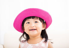 Closeup sweet  little girl face Royalty Free Stock Photo