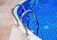 Closeup of swimming pool Royalty Free Stock Images