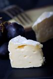 Closeup of swiss chees Stock Images