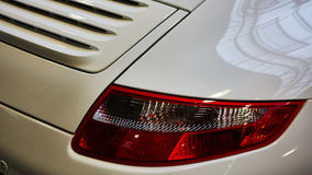 Closeup of the tail light Stock Image