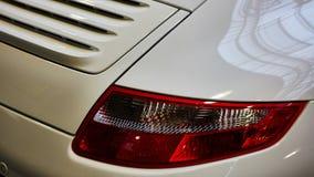 Closeup of the tail light Stock Image