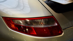 Closeup of the tail light Stock Images