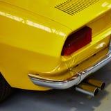 Closeup of the tail light Stock Photo