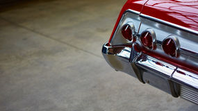 Closeup of the tail light Royalty Free Stock Image