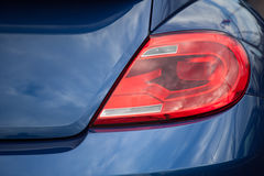 Closeup of a taillight Stock Image