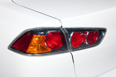 Closeup of a taillight Stock Photography