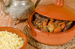 Couscous closeup Royalty Free Stock Photo