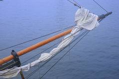 A tall ship sailing vessel bow Royalty Free Stock Photo