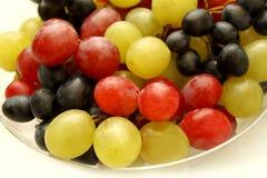 Closeup of tasty ripe grapes Stock Image