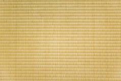 Closeup of a tatami mat Royalty Free Stock Photography