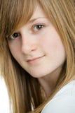 Closeup of teen girl Royalty Free Stock Images