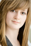 Closeup of teen girl Stock Image