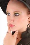 Closeup of teen girl. royalty free stock photo