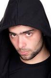 Closeup of a teenager wearing a hoodie Stock Photos
