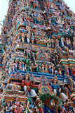 Closeup of temple in india Stock Photography