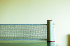 Closeup tennis table with net Royalty Free Stock Images