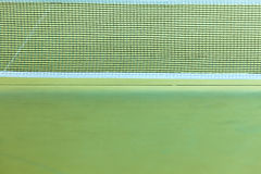 Closeup tennis table with net Stock Images