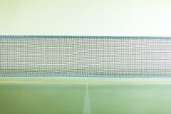 Closeup tennis table with net Stock Photos