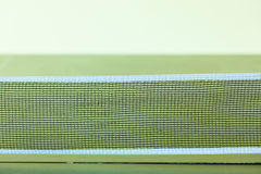 Closeup tennis table with net Royalty Free Stock Image