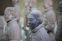 The terracotta warrior closeup Royalty Free Stock Photography