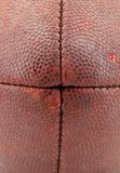 Football Nose Texture. Closeup of the texture on a football Royalty Free Stock Image