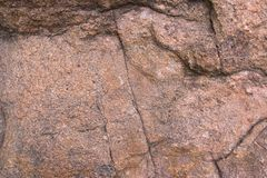 Closeup texture of granite rock Stock Photography
