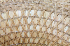 Closeup texture of seamless ratten wicker Stock Photography