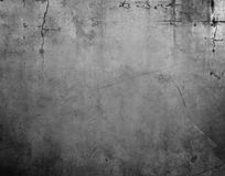 Concrete grey wall Royalty Free Stock Image