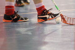Floorball detail Royalty Free Stock Photography