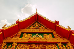 Closeup Thai Architecture Pavilion roof Stock Images