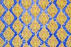Closeup in Thai Art Royalty Free Stock Image