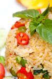 Closeup of Thai pork fried rice Royalty Free Stock Image