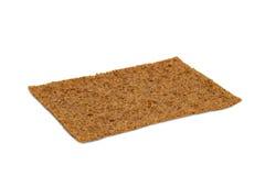 Closeup of a thin rye crispbread with sourdough rye Royalty Free Stock Image