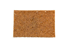 Closeup of a thin rye crispbread with sourdough rye Royalty Free Stock Images