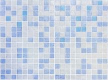 Closeup surface tiles pattern at blue tiles in bathroom wall texture background royalty free stock image